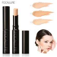 FOCALLURE Pro Perfect Concealer Stick Face Primer Base Sticker Foundation Makeup Studio Fix Foundation Primer Face Cosmetics(China)