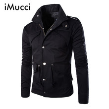 New Arrivals High Quality Men's Jacket New Fashion Elegant Coat Sexy Top Designed Slim Fit Casual Jacket Men Plus Size M~4XL(China)