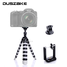 "Duszake Flexible Octopus Mobile Mini Tripod Gorillapod 11"" for iPhone GoPro Canon Nikon Sony Camera Table Desk Tripod Stand(China)"