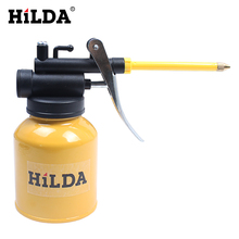 HILDA 250g HVLP Paint Spray Gun Oil Pump Cans Oiler Hose Grease Machine For Lubricating Airbrush Hand Tools Lubricator Repair(China)