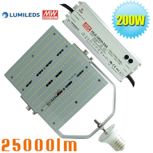 led parking lot lighting retrofit E39 200 watt wall pack retrofit  replace 1000W metal halide fixture