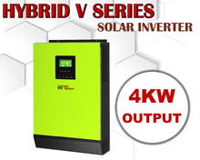 4000w Hybrid Solar power inverter Grid tied solar inverter + off grid solar inverter 48vdc 230vac