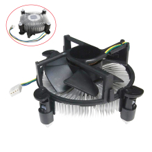 4 PinDesktop Computer PC Aluminum CPU Heatsink cheap Cooler Fan for LGA 775 or LGA1155/1156/1150 3type(China)