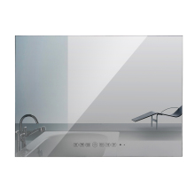 22 inch Magic Mirror Waterproof Bathroom TV Shower TV HD Vanishing ip66 Hotel Television(China)