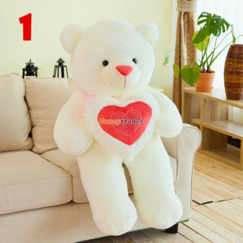 Fancytrader Fashion Cute Teddy Bear Toy 47 120cm Giant Plush Stuffed LOVE Teddy Bear, Valentines Day Gift, 3 Colors, FT90544<br><br>Aliexpress