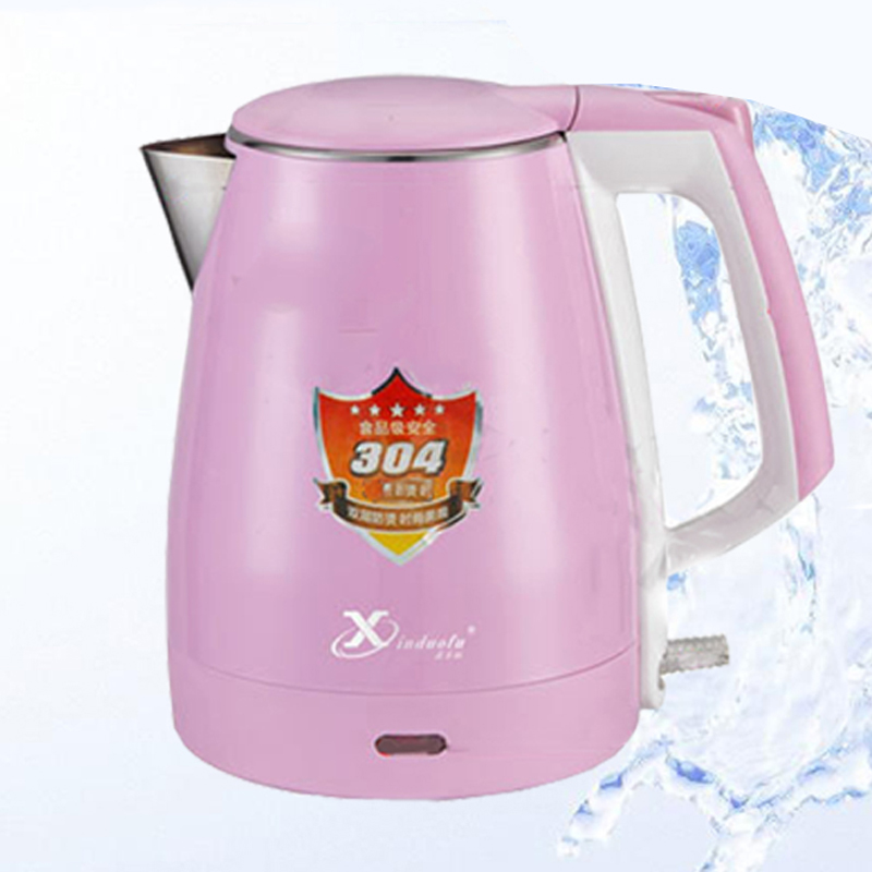 Fashion Jusenda Thermo electric kettle 220v Fast heating water kettle 220v Auto keep warm and Double wall kitchen appliances<br><br>Aliexpress
