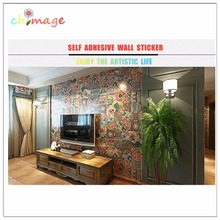 Lots of 10pcs Indian style Self Adhesive Tile Art Wall Decal Sticker DIY Kitchen Bathroom Home Decor Vinyl