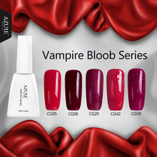 Azure 12ml Vampire Blood Series UV Gel Polish Classic Red UV Nail Gel Soak-off UV Gel Polish With High Quality Nail Gel Polish