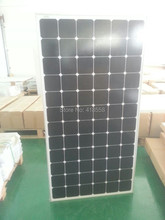 mono solar panel100W 2pcs free shipping solar panel 200w with 17% charge efficiency 25 years warranty