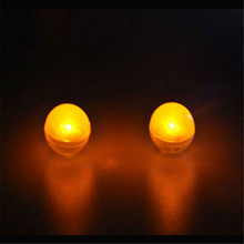 48 pieces/ lot Replaceable Battery Operated Waterproof Led Small Lamp Light Bulbs For Lighting Up Vase Party Wedding Supplies