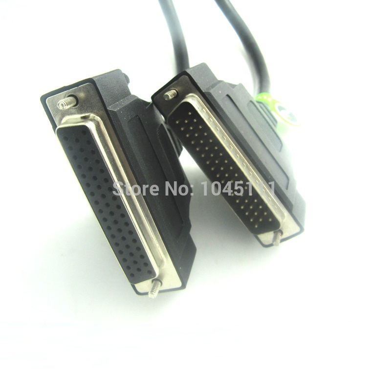 HDB50 Cable DB50 50Pin Male To Female M/F Data Transfer Cable Three Rows 50 Pin Professional Customize Length High Quality<br>
