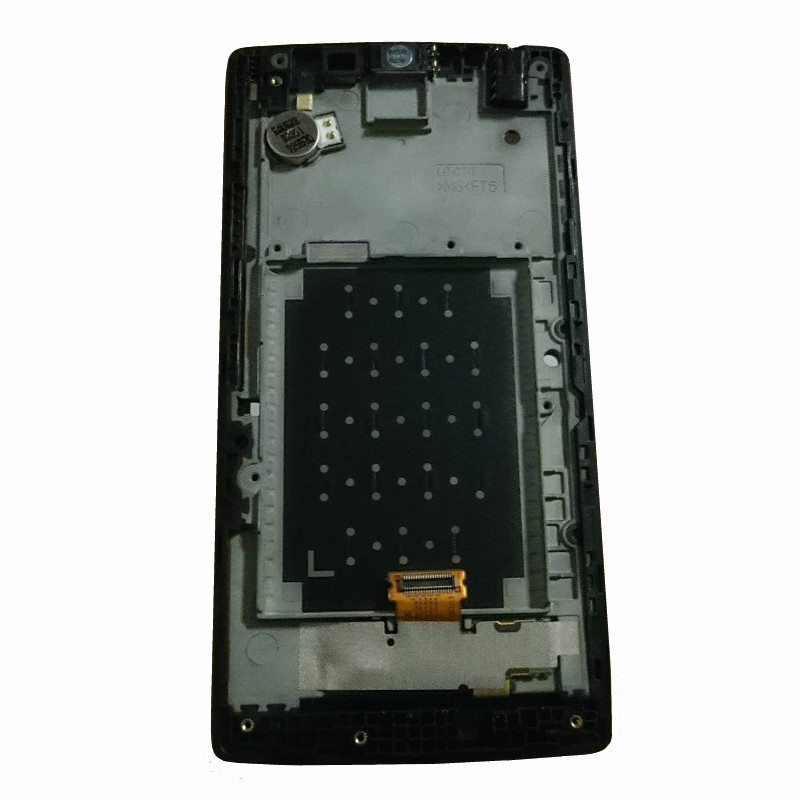 For LG Spirit 4G LTE H440N lcd pantalla H422 H440 H440y H442 LCD Display screen + Touch Digitizer with frame<br>