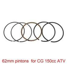 Goofit 62mm Piston Rings Set for CG 150cc ATV Dirt Bike & Go Kart motorcycle accessory piston pin ring K082-029(China)