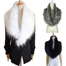 Faux fur shawl Winter women scarf girl neckerchief imiation fur scarf Wrap Stole Tippet lenco women foulard muffler 100*20cm
