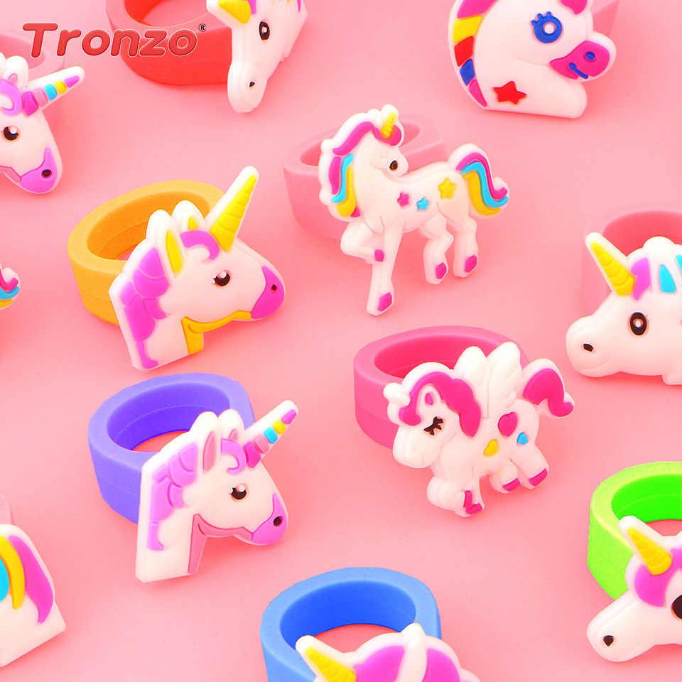 d3a757c0b290b7 Tronzo Unicorn Ring Unicorn Party Birthday Party Decorations Kids Favors  10pcs Cute Unicorn Ring Unicorn Anniversary