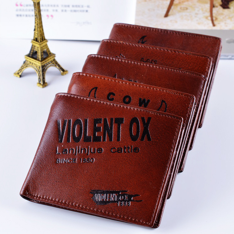 Vintage Coin Purse Brand Men Wallets Cash Wallet and Purse Letter Animal Prints Mini Zipper Hasp Short Design Men Purse Bag<br><br>Aliexpress