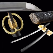 Sale Long Size Battle Ready Fully Handmade Metal Crafts Full Tang Real Practice Sharp Home Decor Sword Japanese Samurai Katana