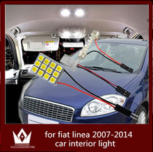 GuangDian car light interior light dome vanity light trunk auto led cargo lamp T10 festoon For Fiat Linea accessories 2007-2014