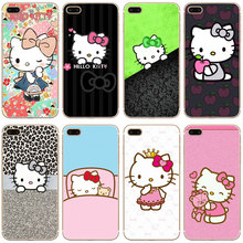 G471 Doraemon And Hello Kitty Transparent Hard Thin Case Cover For Apple iPhone 4 4S 5 5S SE 5C 6 6S 7 8 X Plus(China)