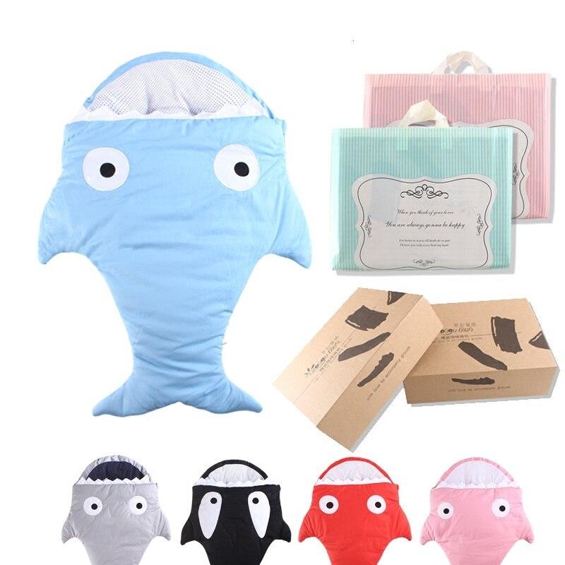 Cute Cartoon Shark Sleeping Bag for Children Boys Girls 100% Cotton Soft Beding Sleepsacks<br><br>Aliexpress