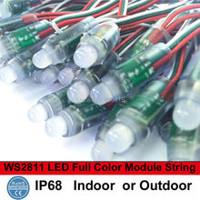 12mm WS2811 Full Color Pixel LED Modules Light Outdoor Waterproof IP68 5V Advertisement Design LED Pixel Lighting(China)