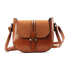 Artificial leather Women crossbody shoulder bags fashion saddle female messenger bag new designer 4 colors