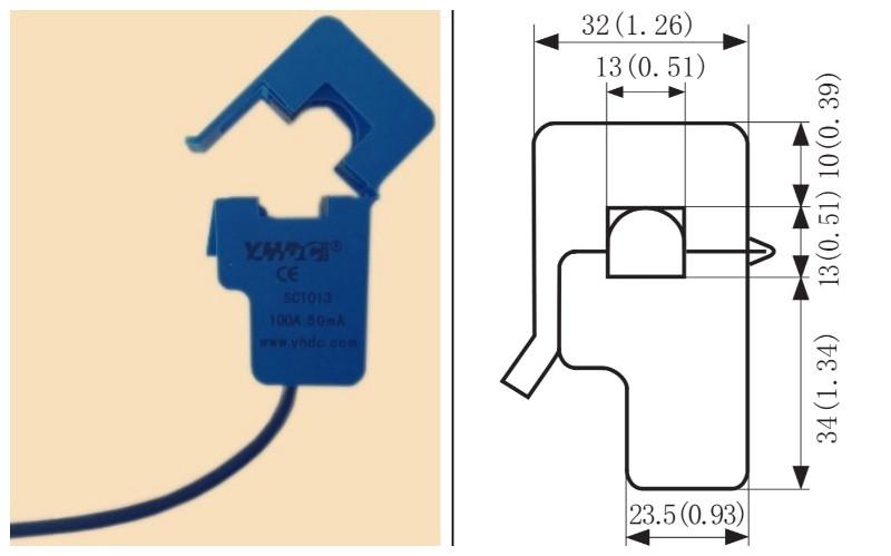 clamp and size