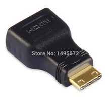 HDMI TO Mini HDMI Converter Adapter Mini HDMI adapter HDMI V1.4 Ethernet 1080P 3D&Blue ray adaptador(China)