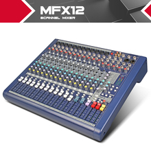 Highest quality!!!All new Soundcraft MFX12/2 Stage performances Mixer with Effects 110V-220V Voltage 12 channel mixer video