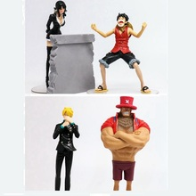 2pcs/set Japan Anime Action Figure ONE PIECE POP 3rd Season Vol.4 Robin&Luffy Vol.3 Sanji&Chopper 16~19cm PVC Model Collect Doll(China)