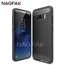 NAGFAK Shockproof Phone Full Cover Case For Samsung Galaxy S8 S8 Plus Soft TPU Cases For Samsung Galaxy S7 S6 Edge S8 Phone Case(China)