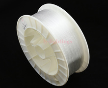 PMMA optic fiber light cable end glow 1mm/1500m clear optical fibre line for decoration