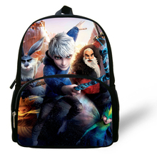 12-inch Cartoon Rise of the Guardians Bag Jack Frost Backpack Children School Bags Boys Aged 1-6 Kids Bag Boys Mochila Menino