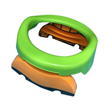 Travel Potty Training Child Foldable Outdoor Car Toilet Seat Baby Urinals Toilet Seat Cushion Kids Camping Toilet