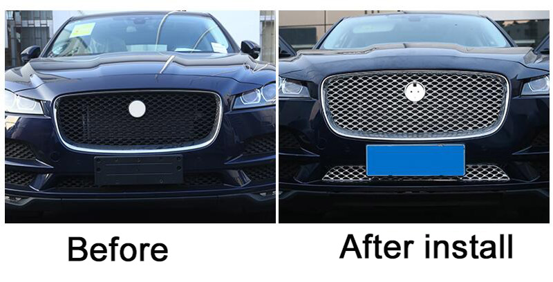 For-Jaguar-F-Pace-F-Pace-X761-2016-2017-Car-styling-ABS-Front-Grill-Cover-Trim (2)