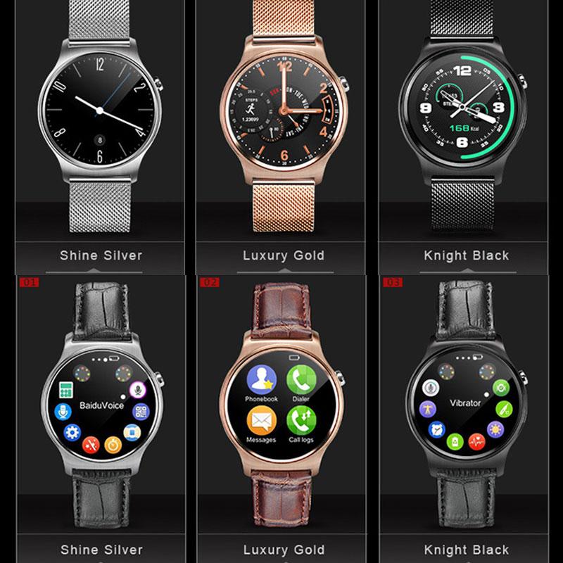 Luxury GW01 Sport Smart Watch IPS Round Screen Life Waterproof MTK2502 Stainless Steel Watch Wristwatch For Android IOS<br><br>Aliexpress