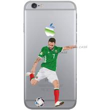 Football star case for iphone 6 6s se 5s 4 4s 5c 5 s, Layun phone shell for iphone 7 plus for samsung cover custom made