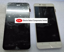 100% original LCD Display + Touch Digitizer Screen glass ASUS Zenfone Max ZC550KL with frame 5.5inch  free shipping
