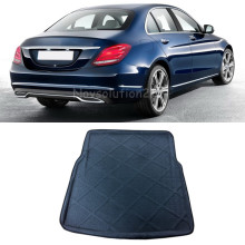 Rear Cargo Liner Trunk Mat For Mercedes Benz C Class W205 2014 2015