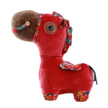30CM One Piece Dot Horse Plush Toys Soft Animals PP Cotton Stuffed Dolls Friends Lovely Gifts(China)