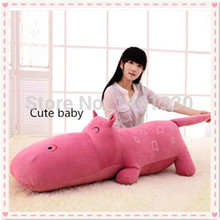 Hippos plush toys large plush animals huge stuffed animal giant teddy bears kids toys  valentine birthday gift Hippo cute pillow