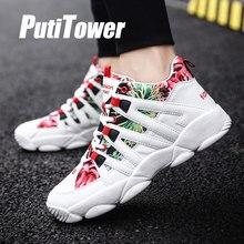 Tinggi Atasan Basket Sepatu Pria Wanita Profesional Pelatih Atletik Ukuran  Olahraga Sepatu Zapatillas Hombre Sepatu Femmes 39dc3c16b5