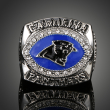 New Arrival Top Quality 2003 Carolina Panthers Championship Rings American Football Games Rings For Men Fans Souvenirs J02140(China)