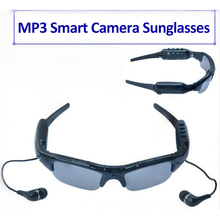 Smart Audio MP3 Camera Cycling Glasses Men Outdoor Sports Fishing Riding Bicycle Sunglasses with Headphone Storage Box(China)