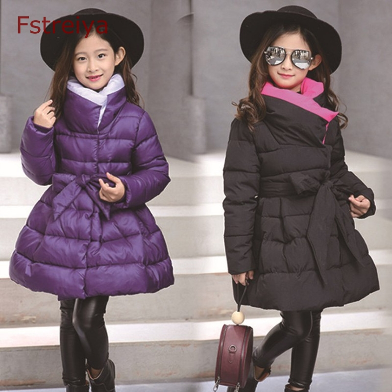 Winter Girls Jacket princess Coat Cotton-Padded Girls Clothes Childrens Clothing Coat Jacket For Girls Costume For kids Clothes<br>