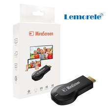 MiraScreen DLNA Airplay EZCast TV Stick Chromecast WiFi Display Dongle Receiver Miracast Wireless Airmirroring Anycast EasyCast