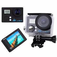 MLLSE Dual soprt Action Camera 4K WiFi Ultra HD Waterproof Sport Camera 2 Inch LCD Screen 16MP 170 Degree for outdoors sport