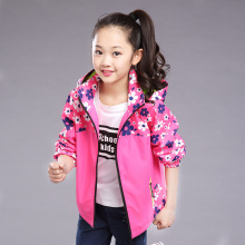 2017 hot sell fashion new girls coat windbreaker winter spring autumn kids jackets children sports coat baby outwear jackets(China)