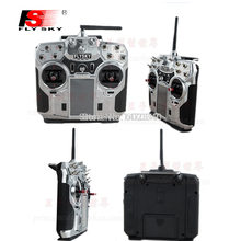 "Free Shipping 5Pcs FlySky FS-i10 2.4g Digital Proportional 10 Channel Transmitter and Receiver System 3.55"" LED Screen for Drone"