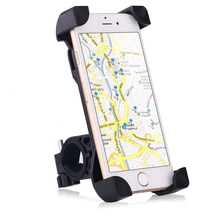 Bike Mount Universal Cell Phone Bicycle Handlebar Motorcycle Holder Cradle with 360 Rotate for iPhone Samsung Google and GPS
